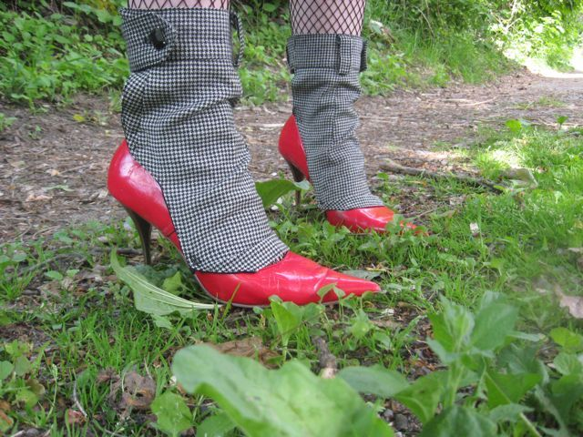 houndstooth spats by morgan cleopatra