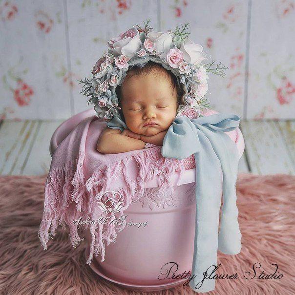 Newborn Bonnet, Newborn Hat, Photo Session prop, Baby Costume, Baby photo prop hat, Newborn Photo prop - pinned by pin4etsy.com