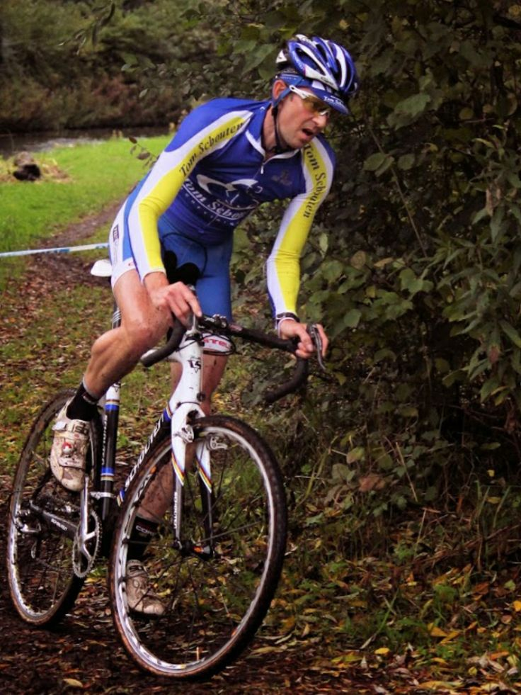 At Gouda in fast cyclocross