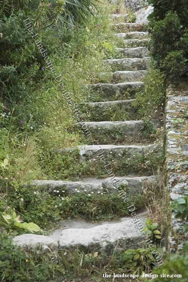 72 best steps up a slope images on Pinterest Landscaping ideas
