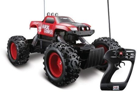 Maisto Tech Red Rock Crawler Remote Control Car.  . A gift idea - toys for 8 year old boys. Read more at http://www.toys-zone.com/maisto-tech-red-rock-crawler-remote-control-car/