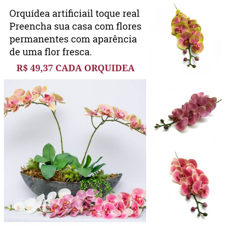 https://www.decorafloresartificiais.com.br/orquideas-artificiais   Visite nosso site, lá vc encontra tudo para criar os mais belos arranjos.