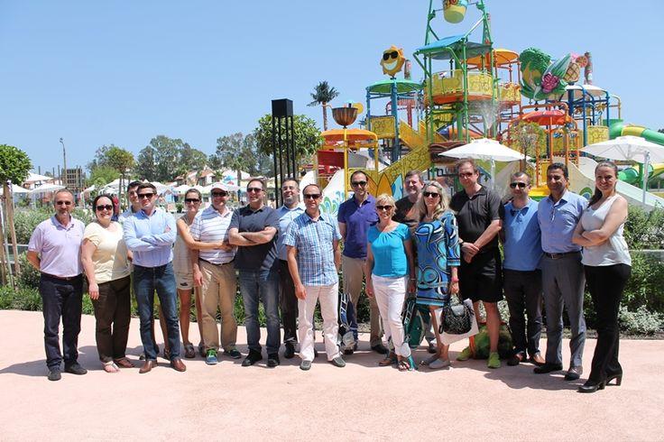 iaapa europe spring forum attendees at waterpark