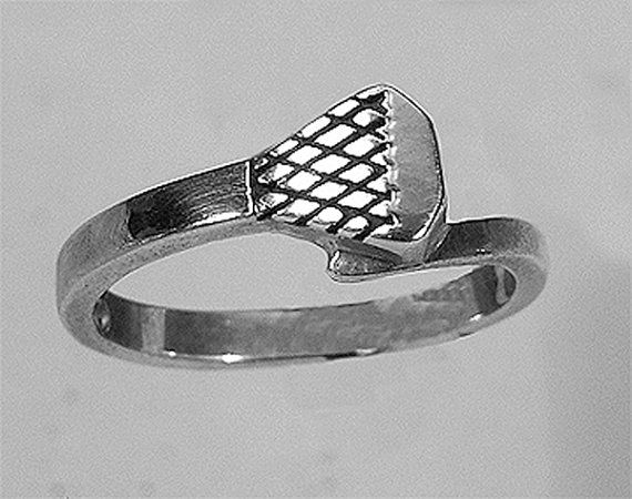 Sterling Silver Horse shoe nail ring by CavalloFineJewelry on Etsy, $42.00