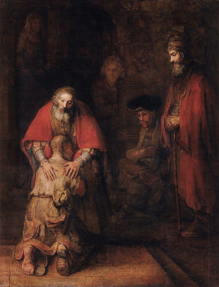 "Medytacja na temat straty – Rembrandt ""Powrót syna marnotrawnego"""
