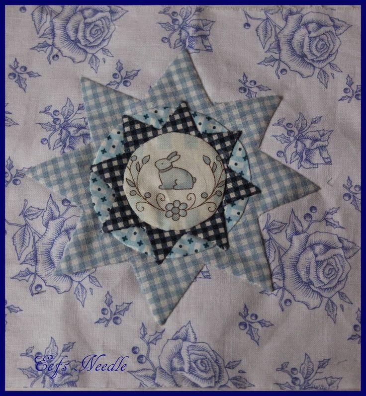 Stonefields quilt van Susan Smith gemaakt door Evelyne van Eefs Needle ( http://eefsneedle.blogspot.nl/)