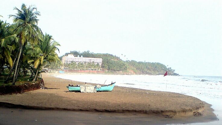 Bogmalo is a small beach-side village in Goa, India. its is a broad, open and flat beach with around a mile of curving sandy beach.