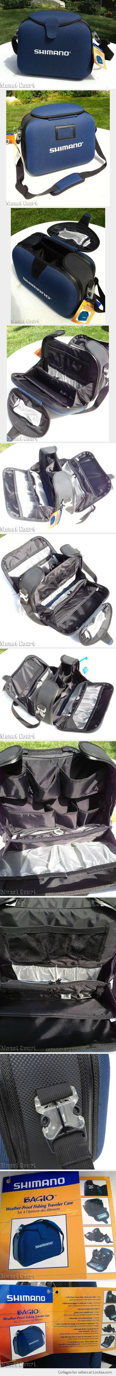 Shimano Bagio Weather-Proof Fishing Traveler Case Tackle Bag - Found on Lookza.com