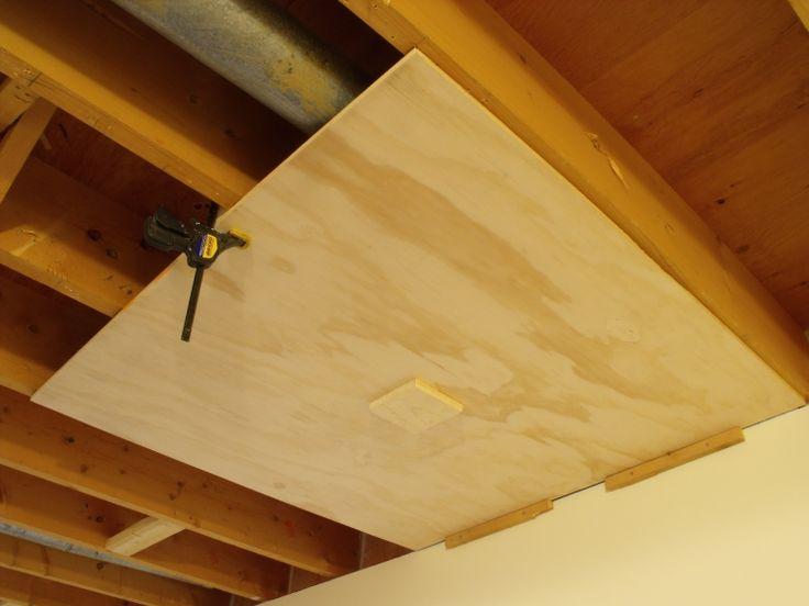 Unique Removable Basement Ceiling Ideas | Hallway ideas