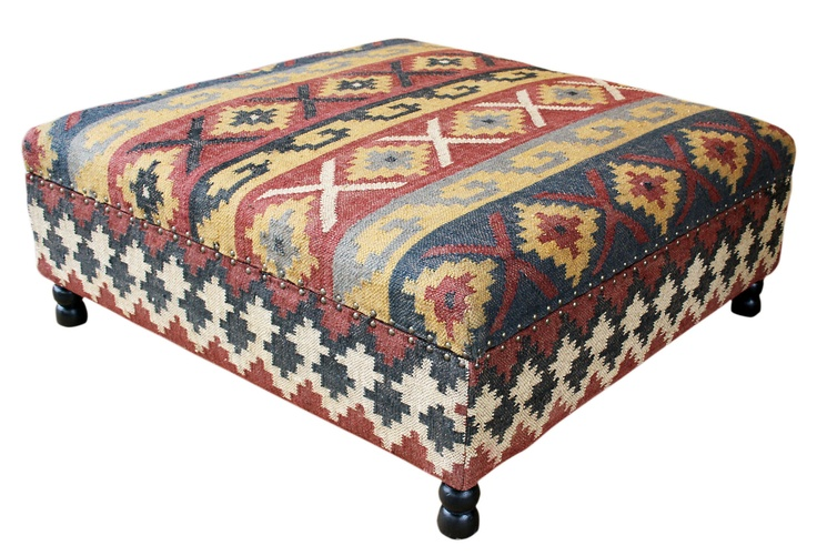 One Kings Lane Classic Pieces Arlo Kilim Upholstered
