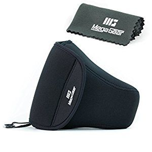 I'm looking for a simple case to protect my camera when I don't use my big bag, and want to put it in my travel tote. MegaGear ''Ultra Light'' Neoprene Camera Case, Cover, Bag Protector for DSLR Cameras Canon 70D,