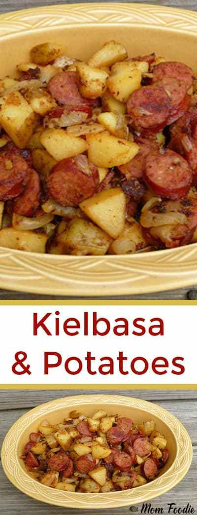 Kielbasa and Potatoes Recipe #comfortfood #kielbasa