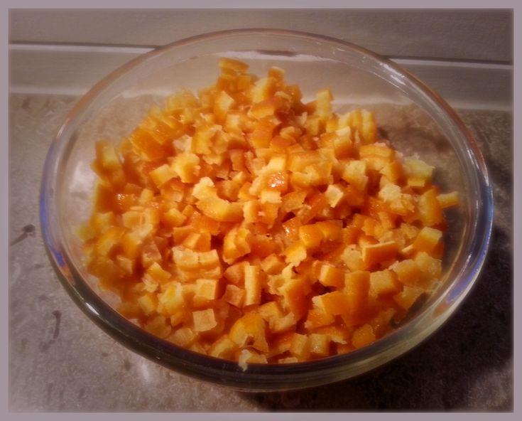 Syltede appelsinskaller og appesinsirup