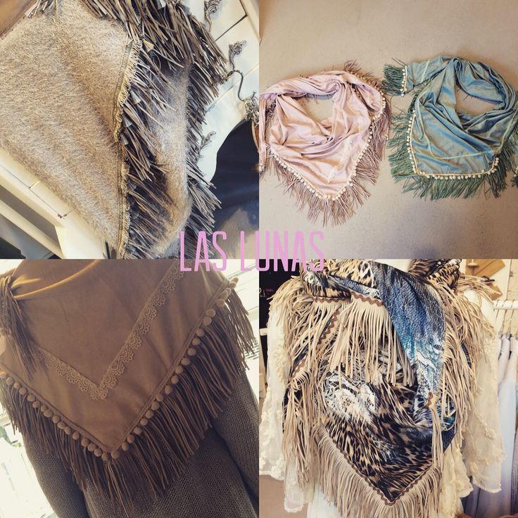 """Scarves from katherina loretta """"now in store"""""""