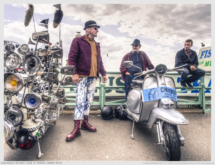 Cherokees Scooter Club by Nigel Lomas on 500px