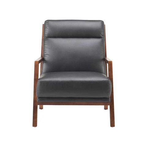 Kasala Noah Leather Chair Family Room Pinterest