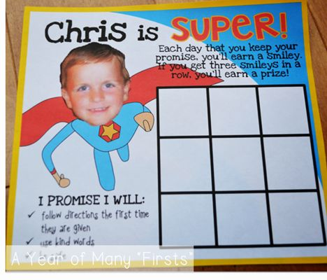 FREEBIE! I'm using this board in lieu of a traditional behavior chart, but I'm sure you could use both if you wanted. When I presented this behavior board to one of my students, he was THRILLED to see his actual picture. So motivating!