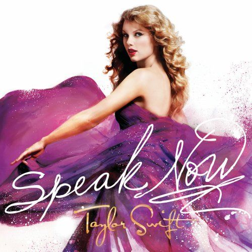 2010 release, the third album from the Country/Pop superstar.  Speak Now is the follow-up to her multi-million-selling 2008 album, Fearless. The 21-year-old singer/songwriter wrote the entire album on her own and  co-produced with longtime collaborator Nathan Chapman, who worked with her on Fearless and her 2006 self-titled debut. Features the single 'Mine'.