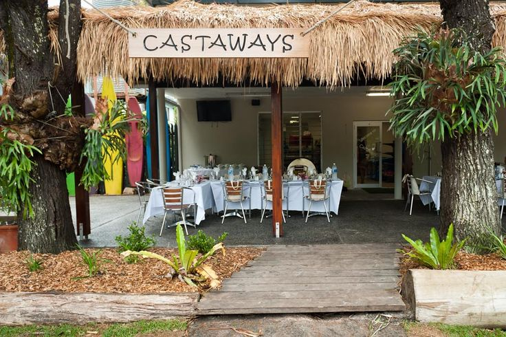 Castaways restaurant on Moreton island.