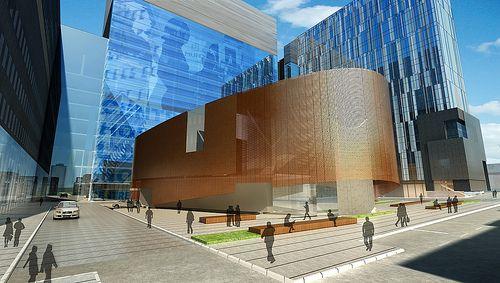 CHUM : le futur amphithéâtre