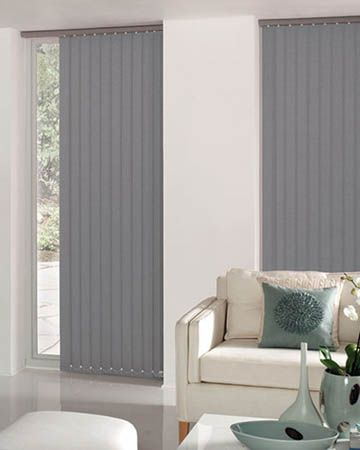 Cheapest Blinds UK | Dark Grey Vertical Blinds