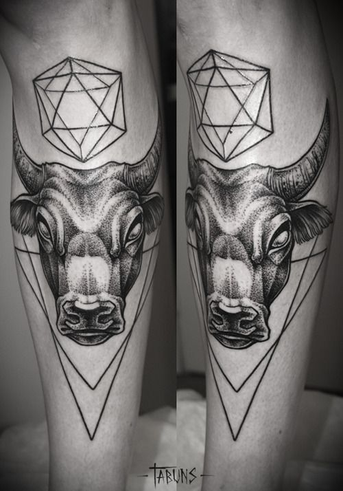 charging bull abstract | bull tattoo en Tumblr | Art ...