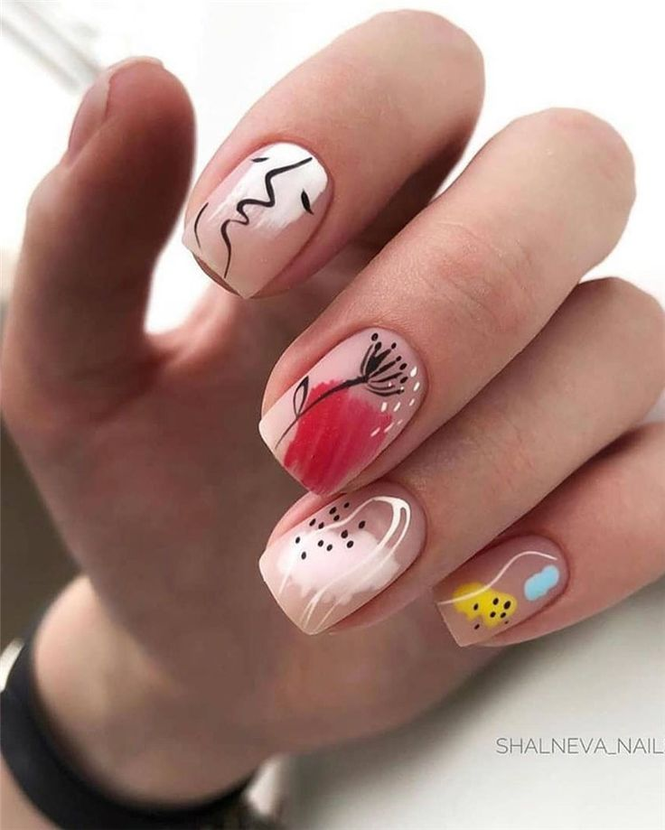80+ Trendy Nail Designs for Summer that brighten up your look