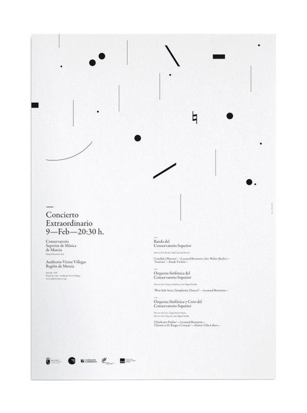 Concierto Extraordinario by Nahuel Marín Luriaud, via Behance