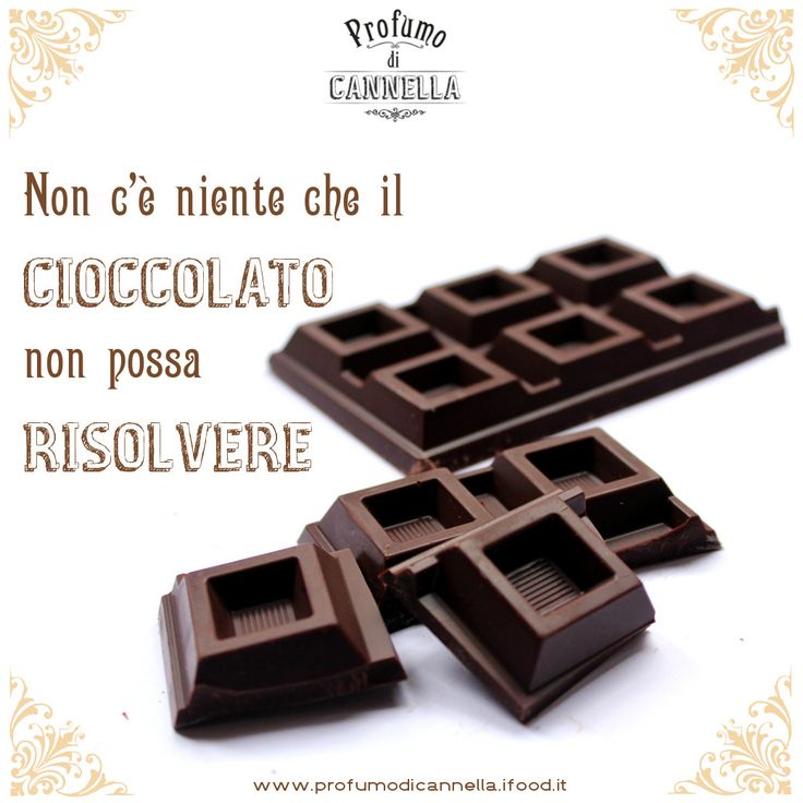 #cioccolato #food #frasi
