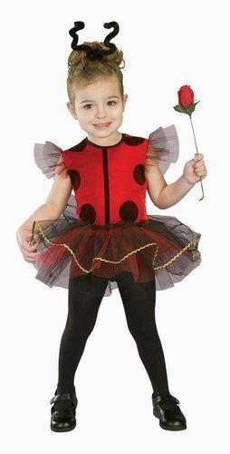 Toddler Ballerina Ladybug Costume