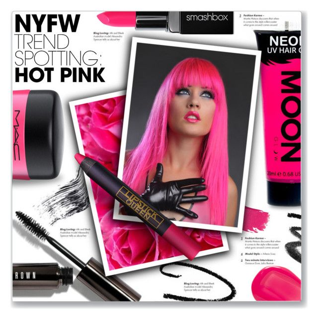 """""""Hot Pink Beauty"""" by kellylynne68 ❤ liked on Polyvore featuring beauty, Bobbi Brown Cosmetics, Maybelline, MAC Cosmetics, Smashbox, Lipstick Queen, Marc Jacobs, Beauty, makeup and hotpink"""