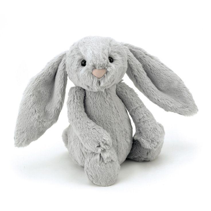 Peluche lapin gris 31 cm Jellycat