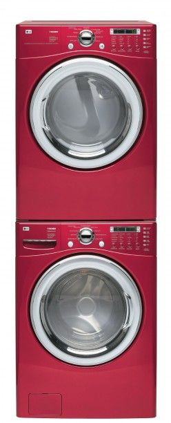 My new LG stackable Washer and Dryer. Can't wait for these bad boys to be delivered. I got them in White though!~ TH