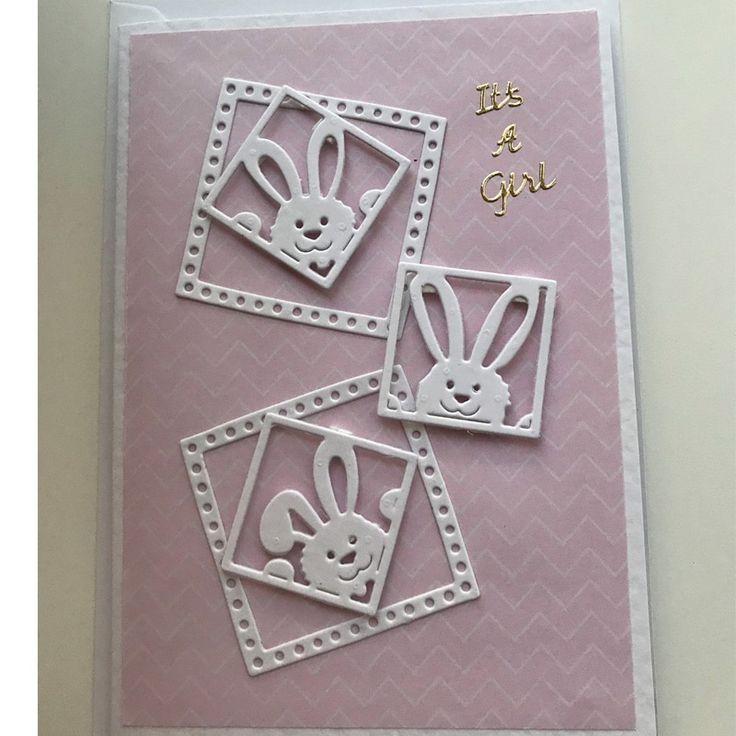 Briefmarken Stirbt Scrapbooking Kaninchen Bunny Ostern Metall Schneiden Stirbt P… – Baby-Id…