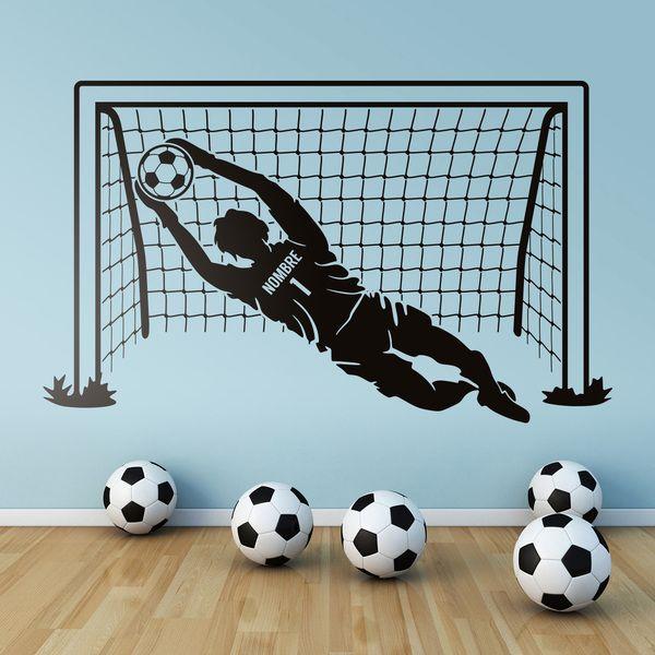 Vinilos Infantiles: Portero y portería de fútbol 0