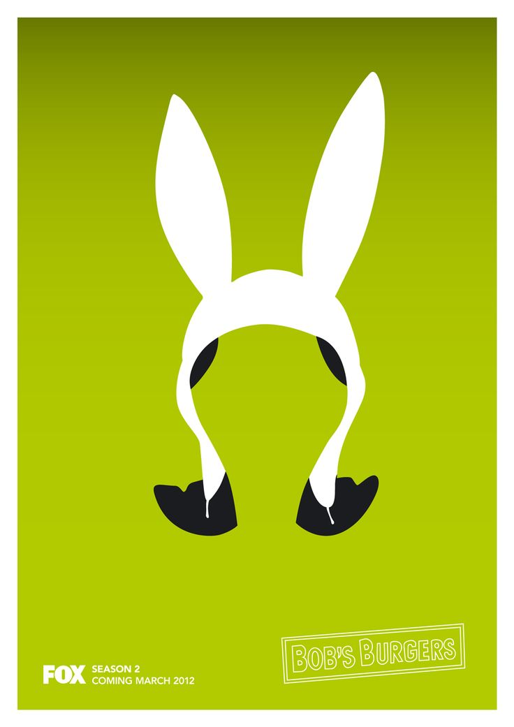 Louise Belcher - Bob's Burgers Poster Make the ears pink...