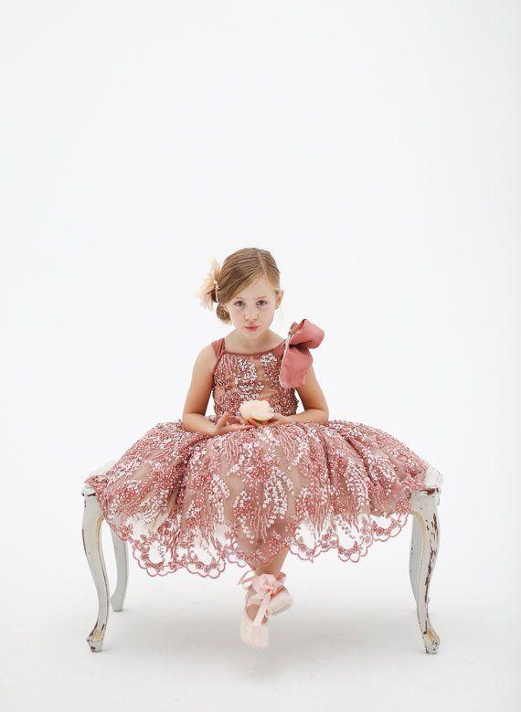 The Katy Flower Girl Dress by DolorisPetunia on Etsy, $800.00