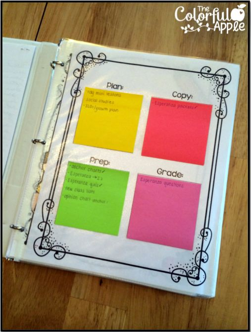 Such a cool way to create a teacher to-do list!  Includes a free template.