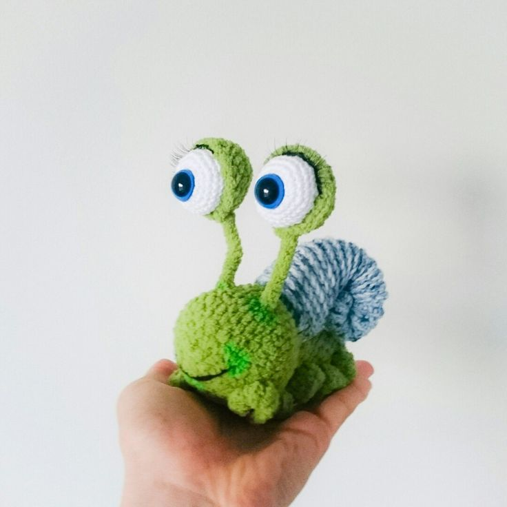 #Crochettiky #crocheted #snail #amigurumi #plushies
