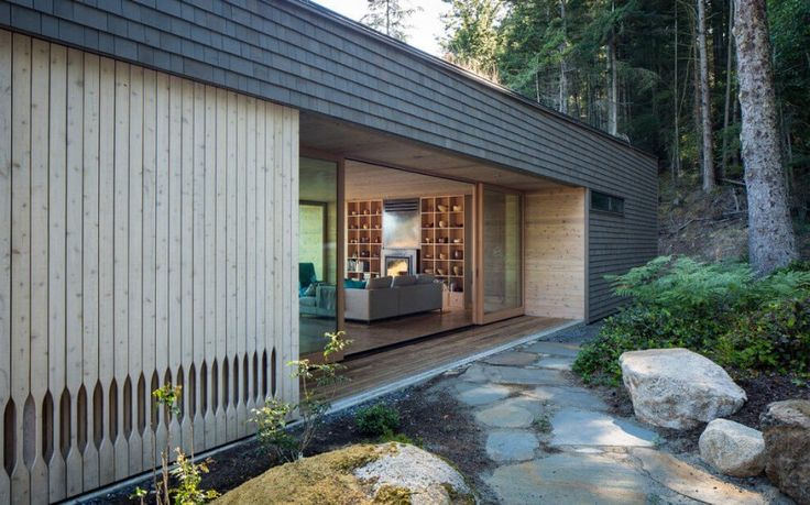 Lone Madrone, a residence on Orcas Island (part of the San Juan Islands archipelago) in Washington, by Heliotrope Architects via @HomeDSGN