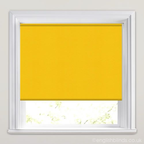 Neo Cyber Yellow Roller Blind