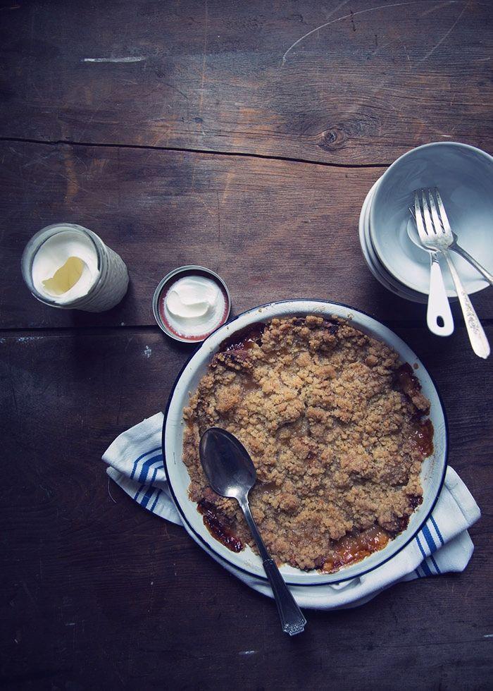 Ruth Reichl's Apple Crisp - Il crumble di Mele di Ruth Reichl