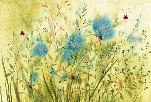 травинки (Виктория Кирдий)