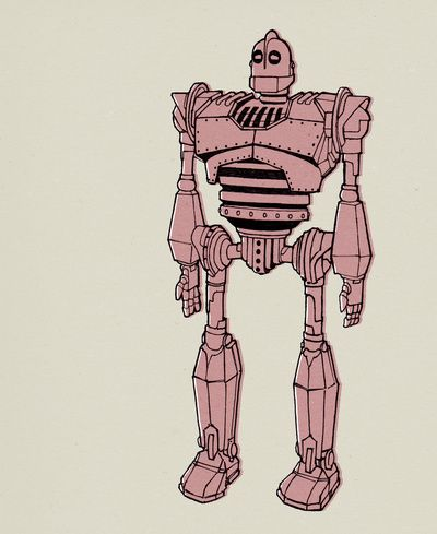Top 25 ideas about final model the iron giant on for Iron giant coloring pages