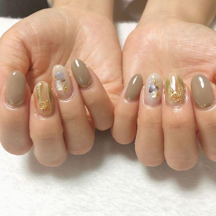 お持ち込みデザイン💅  ありがとうございます😊  #nail #nail…