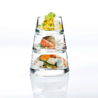Verrine en Pyramide - Set de 3 verres - VERTIGO  19.90€ pour 2 chez delamaison.fr