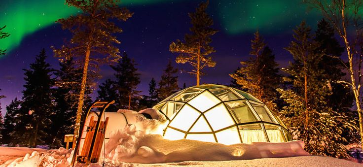 EXPIRED Sleep Under The Stars Stay In A Glass Igloo From Just 80 Night