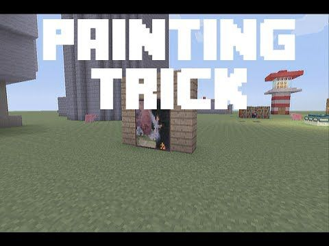 how to make a painting in minecraft xbox 360