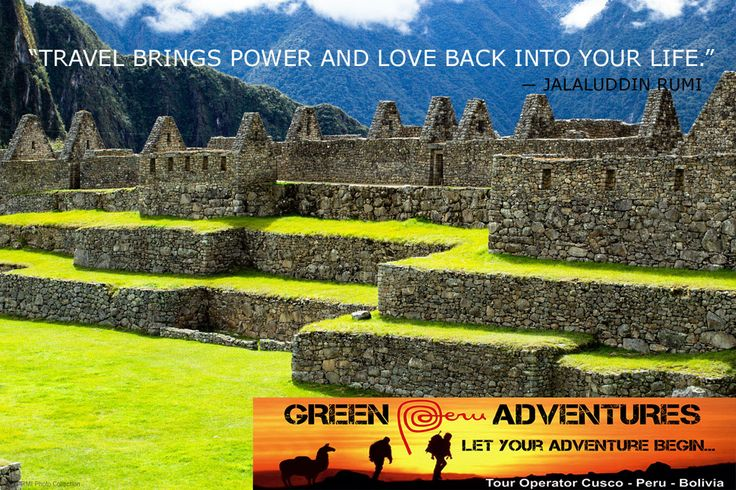 Green Peru Adventures is a Cusco based travel agency specializing in adventure treks to Machu Picchu and holiday tours all over Peru.
