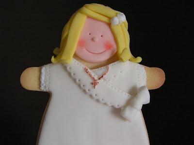 Fabiola`s Cakes: TARTA DE COMUNIÓN DE DOS PISOS